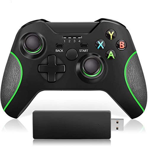 LDFANG Controlador Inalámbrico Xbox One2.4g, Diseñado para El Controlador Inalámbrico Xbox Gamepad One/One S/One X/One Elite / Ps3 / Windows 10