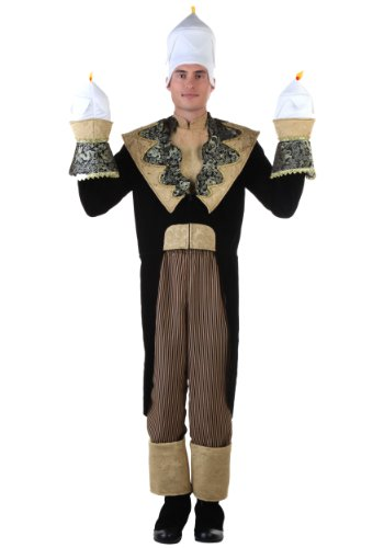 Adult Candlestick Fancy Dress Costume Standard