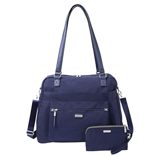 Baggallini Carry All Duffle Weekender Handbag Wristlet Travel Tote