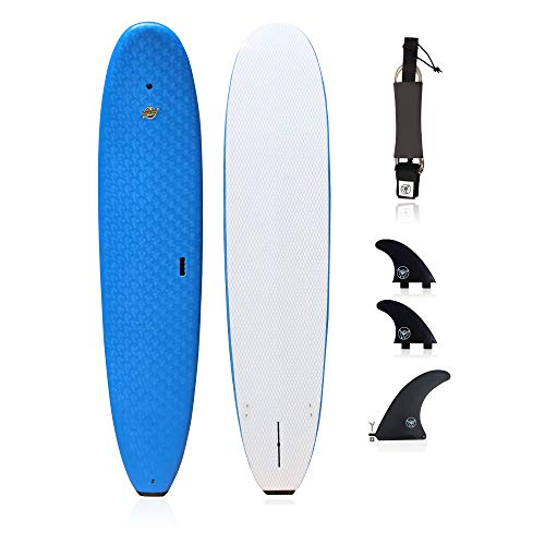 South Bay Board Co. - Premium Surfboard for Beginners –Wax-Free Soft-Top...