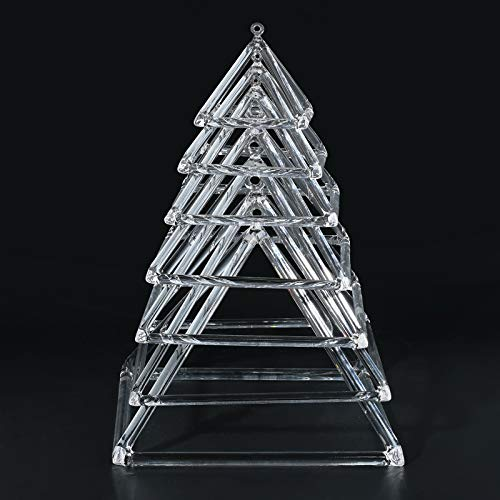 CVNC quartz crystal singing pyramid produced by high pure quartz crystal, the purity more than 99.99%, it is an excellent for meditation and healing tool. Beautiful, Clear, Deep, Amazing and Rich Vibrational Resonance with the power to Heal. Each pyr...