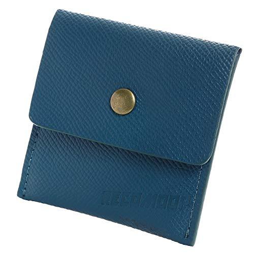 RECOMOOP携帯灰皿 高級 コンパクト ポータブル ポケット おしゃれ (青)ブルー