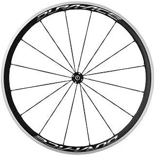SHIMANO Rueda del DACE-R9100 C40 Cub WB Ciclismo, Adultos Unisex, Multicolor (Car/ALU), Talla Única