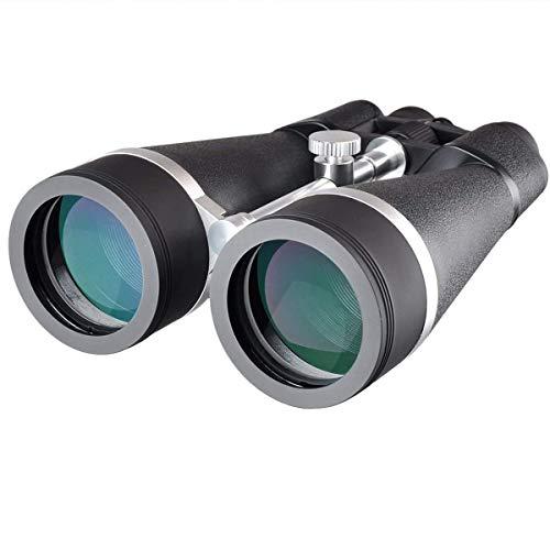 Gosky Skyview 20x80 Astronomy Binoculars, Giant Binoculars with Digiscoping Adapter - for Moon Observation Bird Watching Sightseeing Shooting Star Gazing
