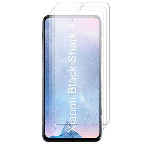 JundD Bildschirmschutz Kompatibel für Xiaomi Black Shark 4/Xiaomi Black Shark 4 Pro Schutzfolie, 3 Stücke Antireflektierend Nicht Ganze Deckung Matte Folie Bildschirmschutzfolie für Xiaomi Black Shark 4