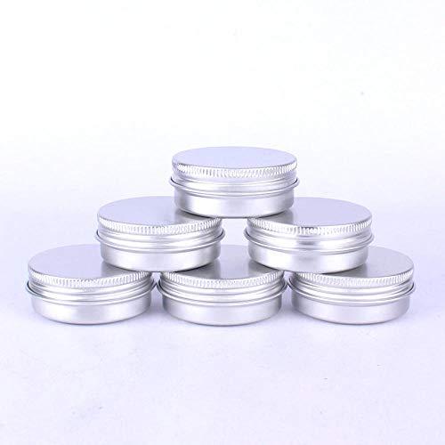 Blikken doos herbruikbare container 30 ml cosmetische aluminium doos voor kleine blikjes bewaarpotten lege cosmetische schroefdeksel container 1 stuks