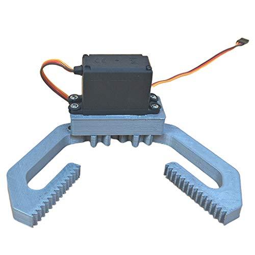 Perfeclan Impresora 3D Brazo robótico RC Abrazadera mecánica Soporte Robot Partes Accesorios