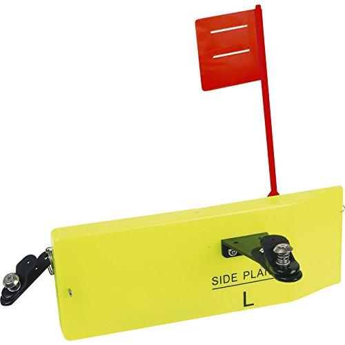 Fladen Side Planer Board, Scherbrett zum Schleppfischen/Trolling, Größe 250 x 85mm, Varianten für Links und Rechts (Links)
