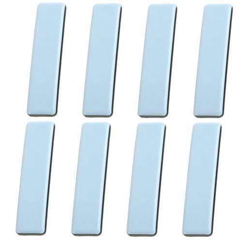 Selbstklebend Teflongleiter INTVN  8  PTFE-Gleiter  Rechteckig    Stuhlgleiter Stuhlgleiter Rollen  für Stühle, Tische und auch Kleiderschränke 25*100mm