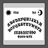 10 X 12 inch Gothic Style Ouija/Spirit/Ghost Board Stencil Template Ouija/Celestial Sun/Moon/Star!