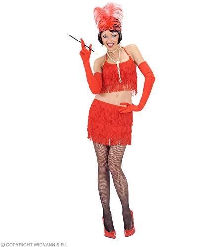 rood franje top en rok kostuum medium voor sappige sexy chique jurk