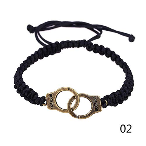 ASIG Andmade Armband Mannen Sieraden Handboeien Bedel Armband voor Vrouwen Accessoires Vriendschap Meisje Paar Armbanden