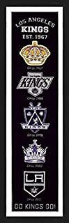 LA Kings Framed Heritage Banner 13x36 Inches