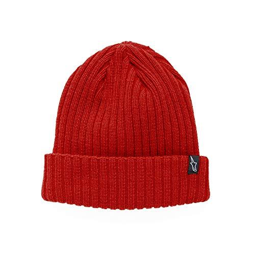 Alpinestars Herren Hat Receiving Beanie, Red, One Size, 1037-81504