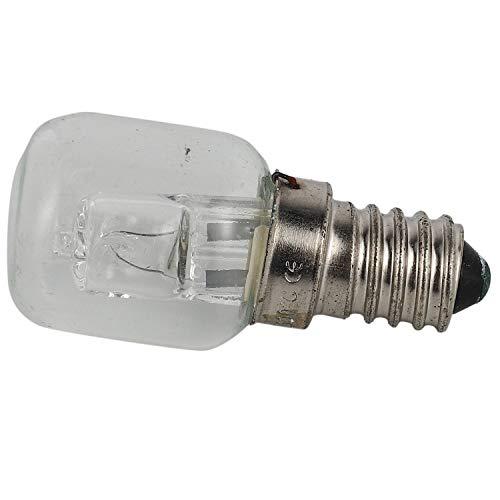 TOOGOO E14 Ampoule Haute Température 500 Degrés 25W Halogène Bulle Ampoule de Four E14 250V 25W Ampoule à Quartz
