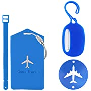 Landisun Luggage Tags,Travel Tags luggage labels PVC ID Card of 7 pack. (Blood And Sand Spartacus)