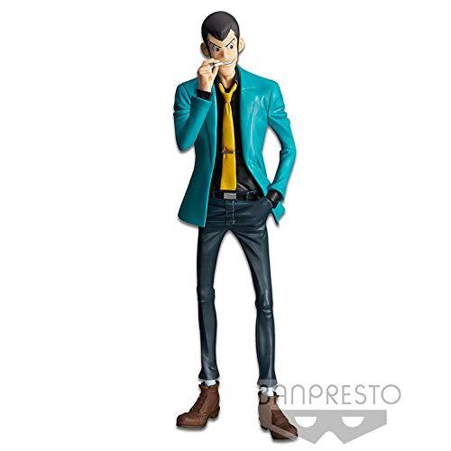 Figura Statua LUPIN con SIGARETTA e Giacca Verde 26cm Serie MASTER STARS PIECE II 2 Part 5 Originale Lupin III Third BANPRESTO