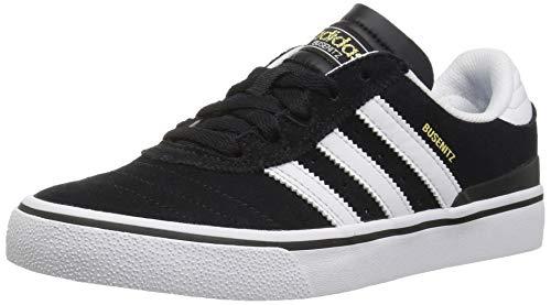 adidas Originals Men's Busenitz Vulc Fashion Sneaker, Black/White/Black, 5 M US