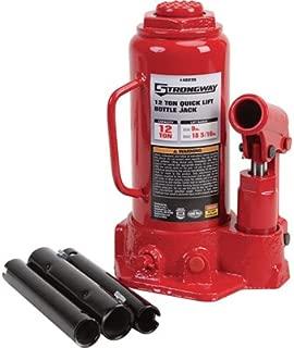 Strongway 12-Ton Hydraulic Quick Lift Bottle Jack