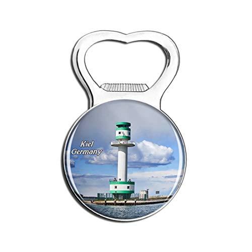 Weekino Kieler Leuchtturm Deutschland Bier Flaschenöffner Kühlschrank Magnet Metall Souvenir Reise Gift