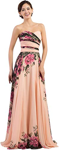 Long Strapless Corset Prom Dresses Ruched Bodice Size 2 CL7503