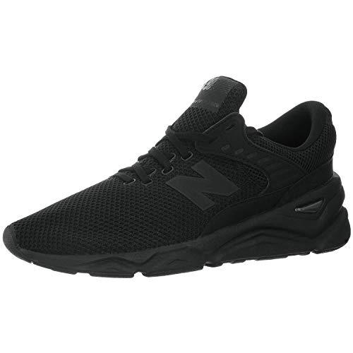 New Balance Herren X-90 Sneaker, Schwarz (Black/Magnet Cre), 44.5 EU