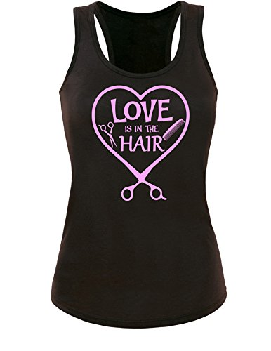 Angry Shirts Love is in The Hair - Damen Tanktop