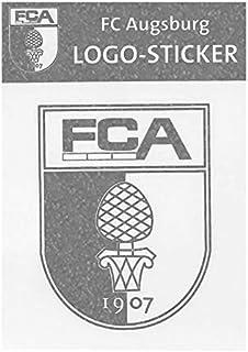 FC Augsburg Logo-Sticker Silber