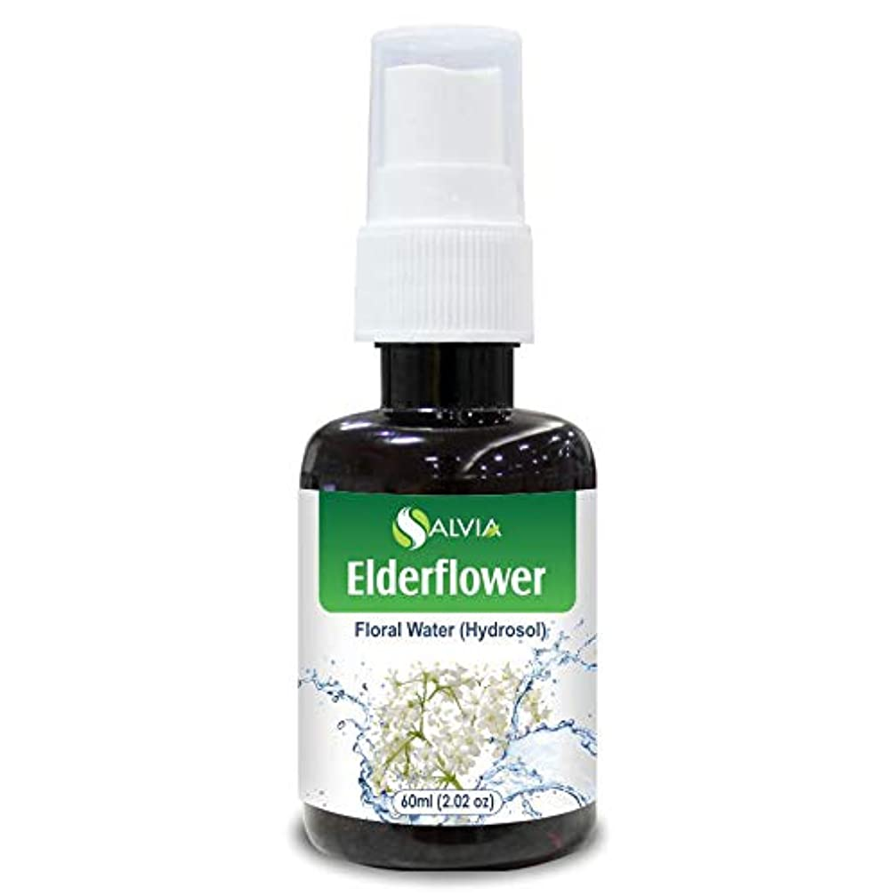 保存休暇代数的Elderflower Floral Water 60ml (Hydrosol) 100% Pure And Natural