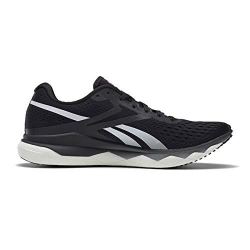 Reebok Men's Floatride Run Fast 2.0 Running Shoe - Color: Black/Pure Grey - Size: 8 - Width: Regular