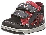 Geox B New Flick Boy C, Zapatillas Bebé-Niños, Gris (Dk Grey/Red C0047), 20 EU