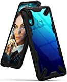 Ringke Fusion-X Compatible with Huawei P Smart 2019 Case, Built in Dot Matrix Rear PC Anti-Cling...