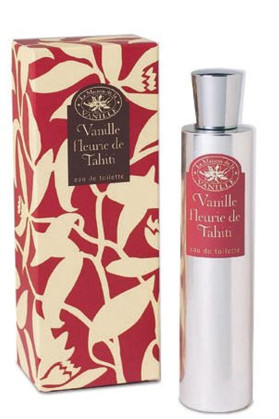 送料報いるほとんどの場合Vanille Fleurie de Tahiti (ヴァニラ フルール デ タヒチ) 3.4 oz (100ml) EDT Spray