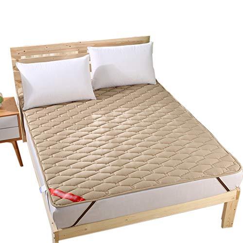 WYBF Folding Tatami Materasso Bed Ground Materasso Letto futon Materasso Matrimoniale Singolo Dormitori Futon Pieghevole Imbottito Trapuntato Lavabile Portatile dormitorio Materasso