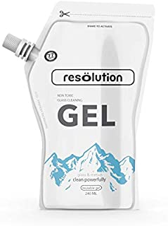 Resolution Glass Cleaning Gel