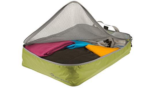 Sea To Summit Garment Mesh Bag L Schlafsack Bergsteigen, Bergsteigen und Trekking, Erwachsene, Unisex, Lime/Grau, 11 Liter