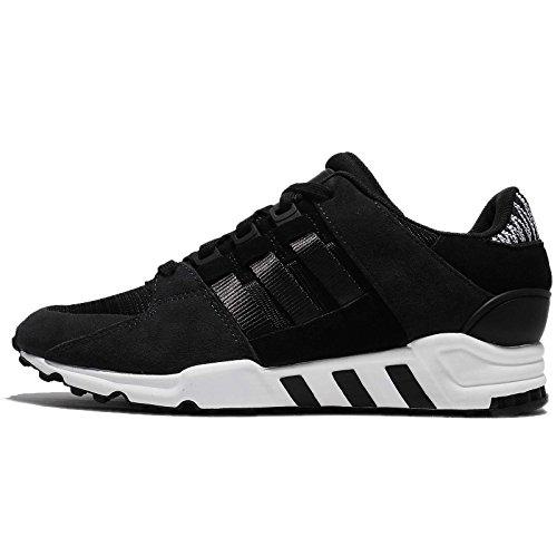 aAdidas Herren EQT Support RF Sneaker, Schwarz / Weiß, 40 2/3 EU