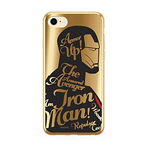 Ert Group MPCIMAN3304 Cubierta del Teléfono Móvil, Iron Man 010 iPhone 7/ 8