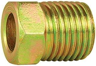 Steel Tube Nut, 1/4 (7/16-24 Inverted), 10/bag