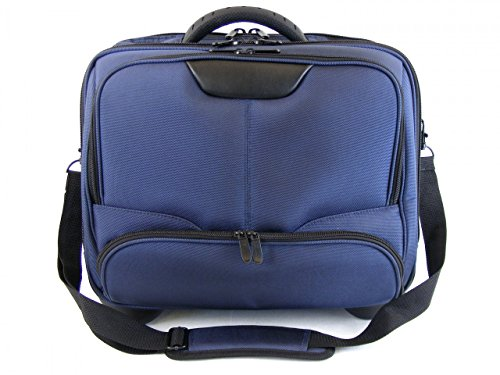 Dermata Businesstrolley aus Nylon 44,5 cm blau