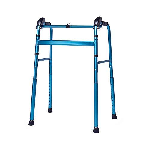 ZEQUAN Silla De Ruedas, Caña De Edad Avanzada con Discapacidad Ayuda A Caminar, Subir Y Bajar Las Escaleras