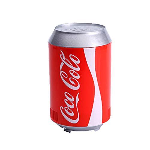 CXD Tragbarer Auto Kühlschrank, Koks Dosen Mini USB Kühlschrankkühlschrank Getränkekühler Kühlbehälter Für Büro Schlafzimmer Schule Kühlschrank in,Rot