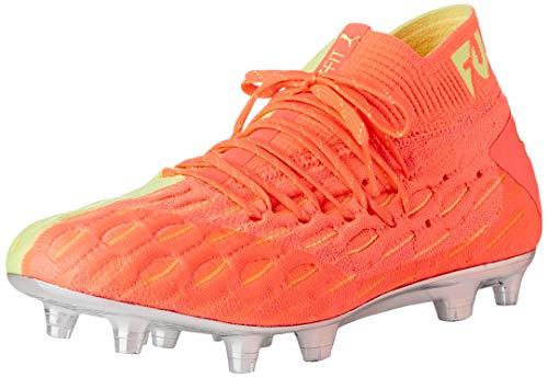 PUMA Future 5.1 Netfit OSG FG/AG, Botas de fútbol para Hombre, Rosa (Nrgy Peach-Fizzy Yellow), 42.5 EU