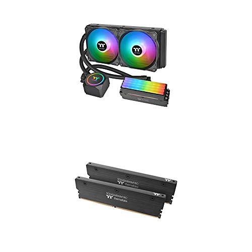 Thermaltake Floe RC240 ARGB Motherboard Sync All-in-One CPU & Memory Cooler with Memory Intel 16GB (8GB x 2)