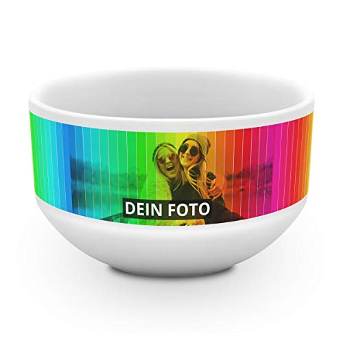 PhotoFancy® – Müslischale mit Foto selbst gestalten – Frühstücks-Bowl mit Foto Personalisieren und Bedrucken