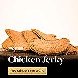 Chicken Jerky - 1000g | Hühner Filets aus 100% Huhn | Leckere, Perfekte, schonend Getrocknete Trainingssnacks für Hunde