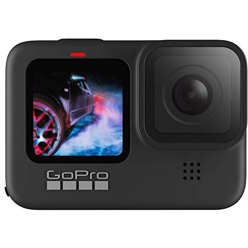 Câmera GoPro HERO9 Black à Prova D'água com LCD Frontal, Vídeo em 5K, Foto de 20 MP, Transmissão Ao Vivo em 1080p, Webcam, Hypersmooth 3.0