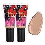 Hue Noir True Hues Flawless Finish Foundation Tiramisu 2pack
