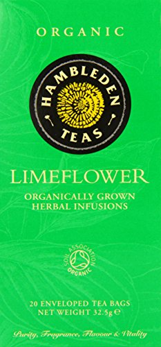 HAMBLEDEN HERBS Organic Lime Flower Tea Bags 32.5g