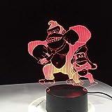Mono 3D Lámpara de escritorio Led Decoraciones para el hogar Ambiente animal Lámpara para niños Regalo de cumpleaños Luz nocturna